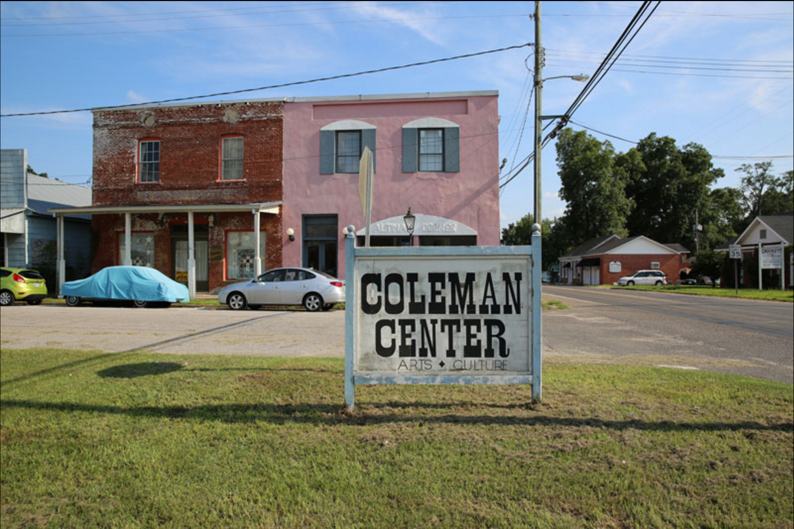 Coleman Center for the Arts, York, Alabama
