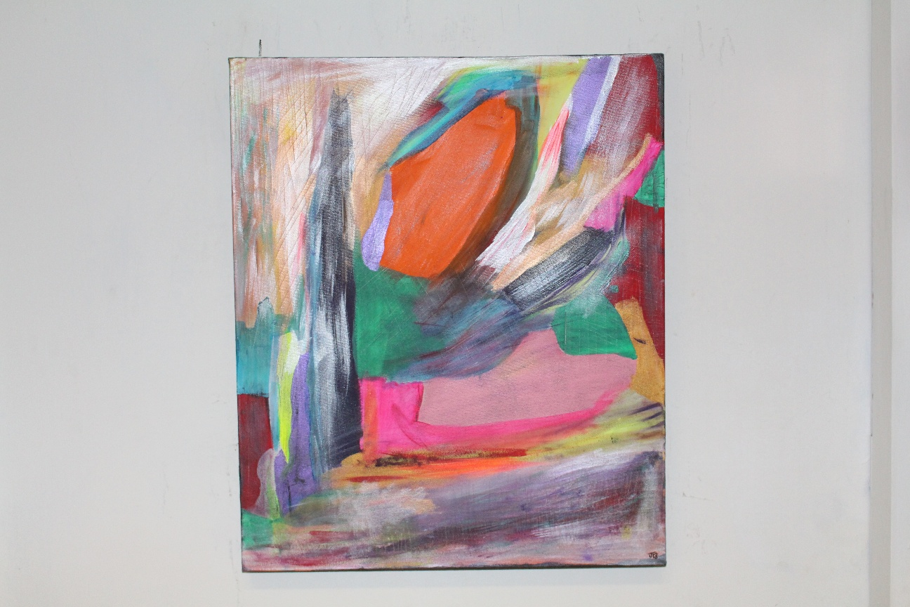 45. ''Untitled.'' (50x60) acrylic paint on canvas           (€670)