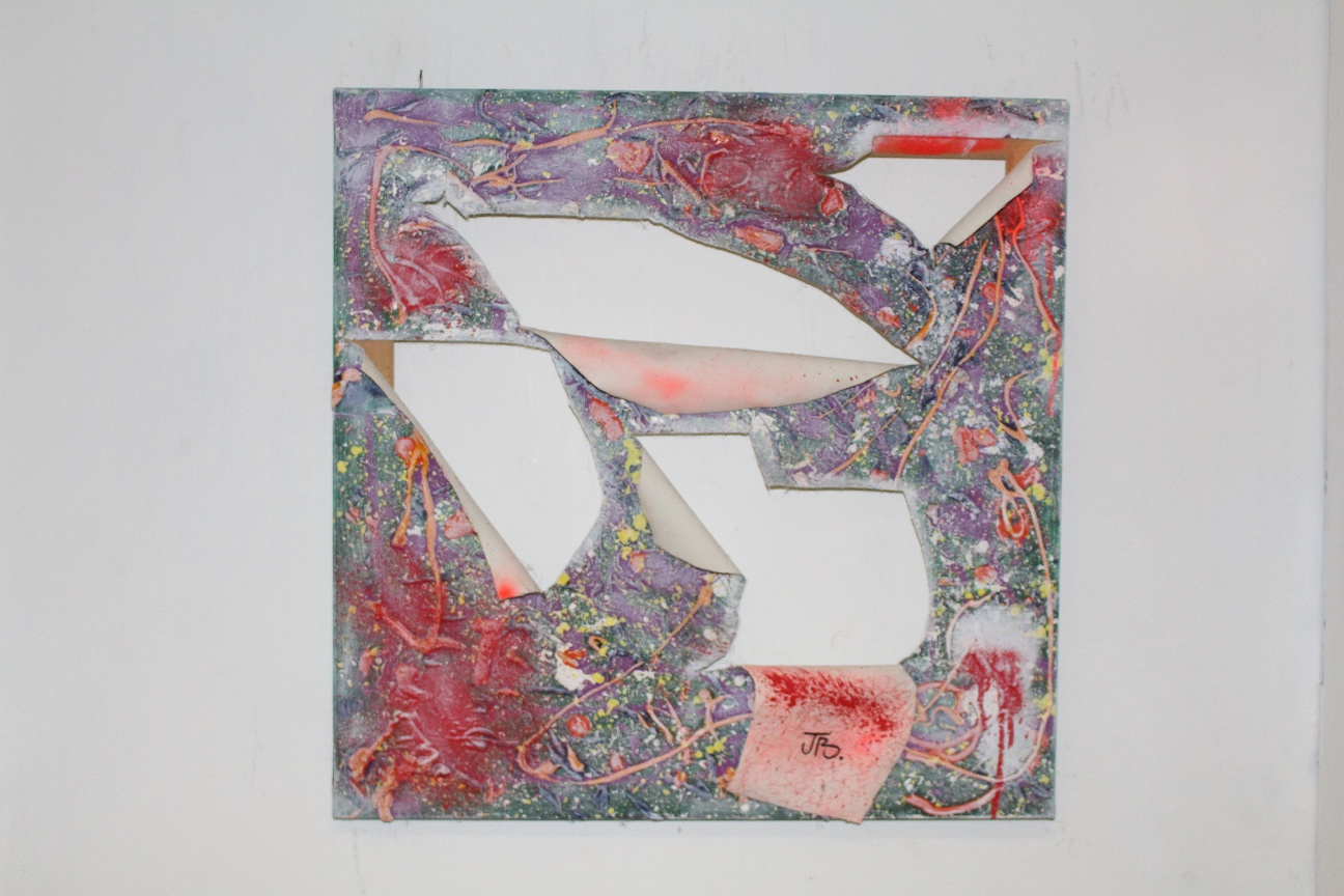 44. ''Untitled.'' (50x50cm)  mixed media       (€880)