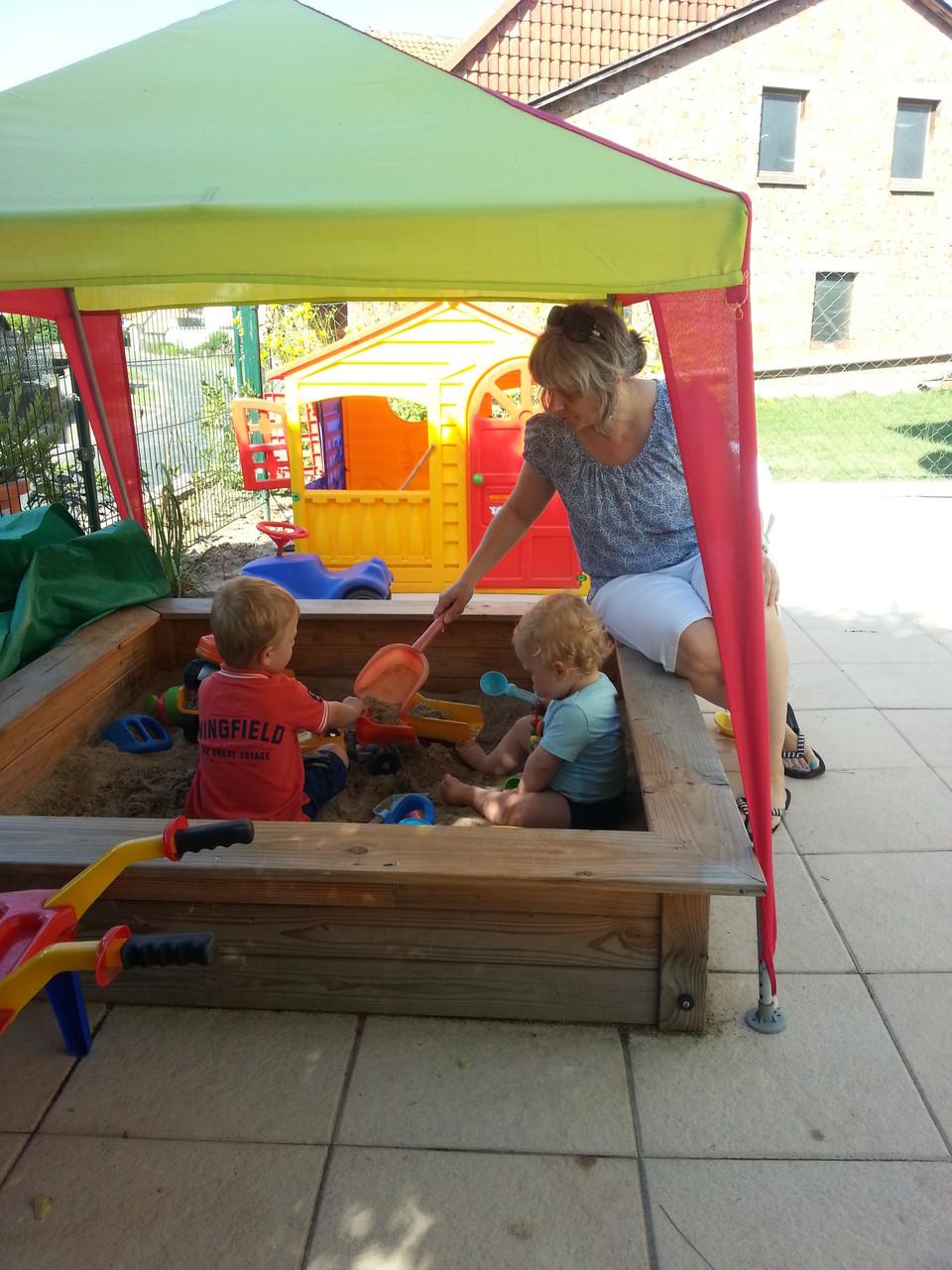 überschaubarer Raum für die Kleinsten schafft Sicherheit und Vertrauen