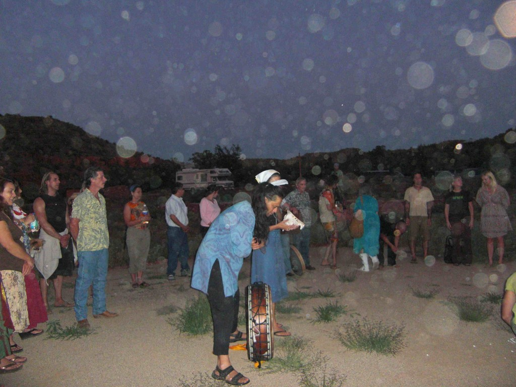 Ceremony Night in Angel Valley, Arizona 08