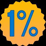 1% auf alle Hotelpreise sparen !