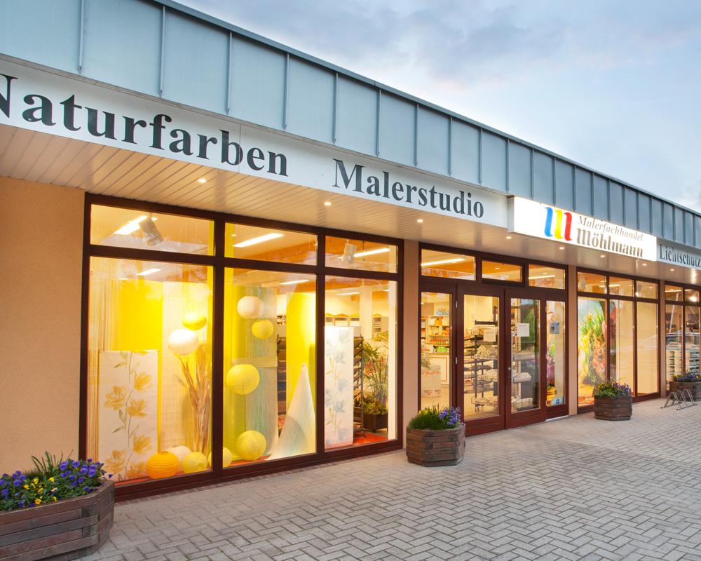 Malerfachgeschäft in Augustfehn, Gemeinde Apen, Stahlerkstraße 89.  Foto: Foto Scheiwe