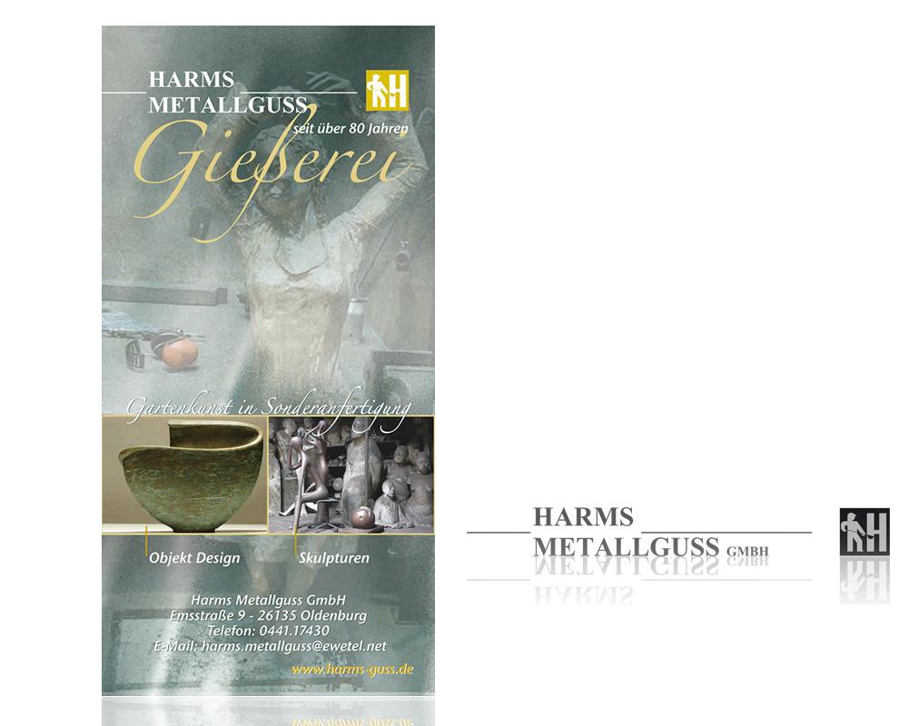 Anzeigen in der Zeitschrift Schlossallee mit dem Thema: Gestalten in Sonderanfertigung. Kunstguss.
