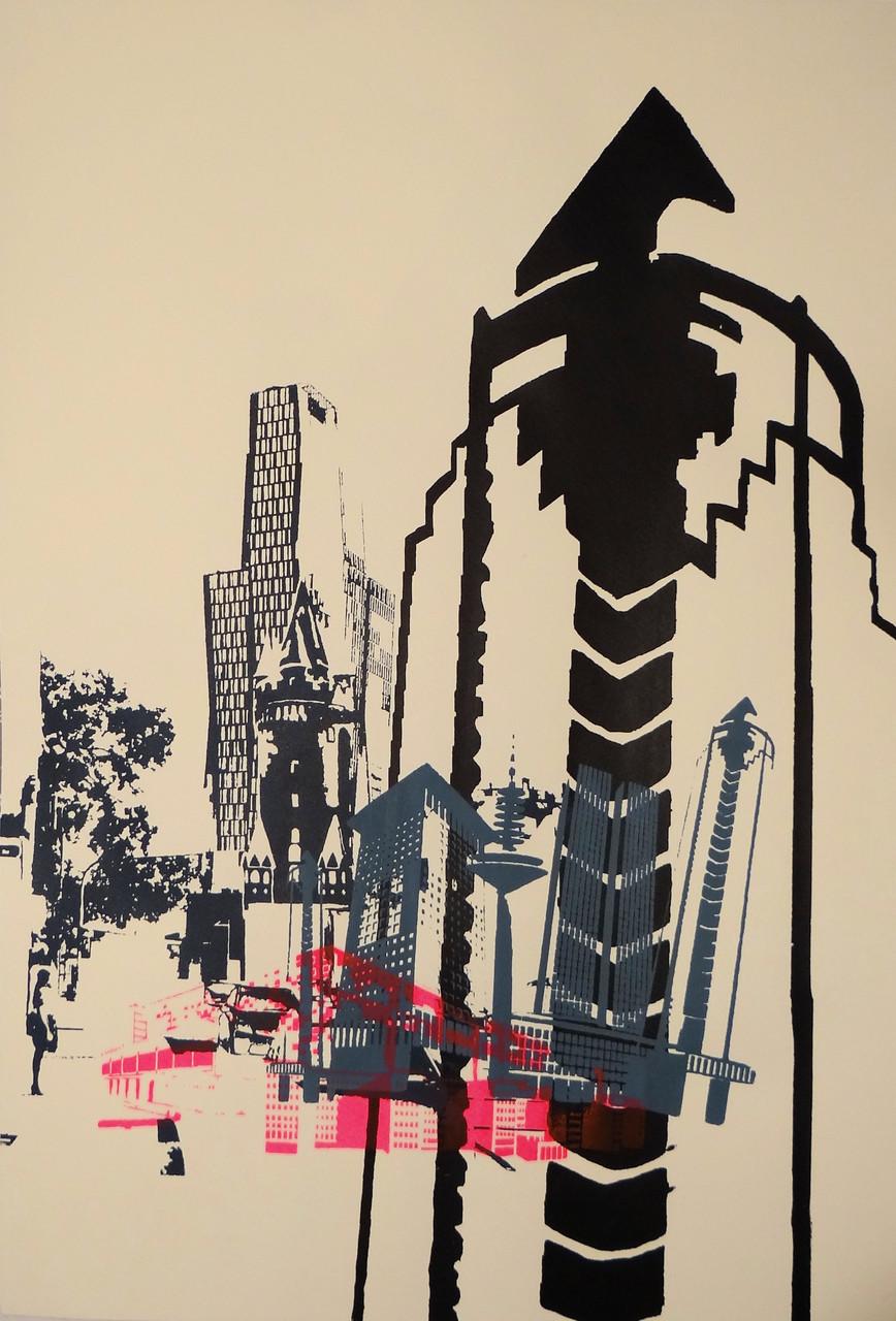 Siebdruck-Poster DIN A2 91€