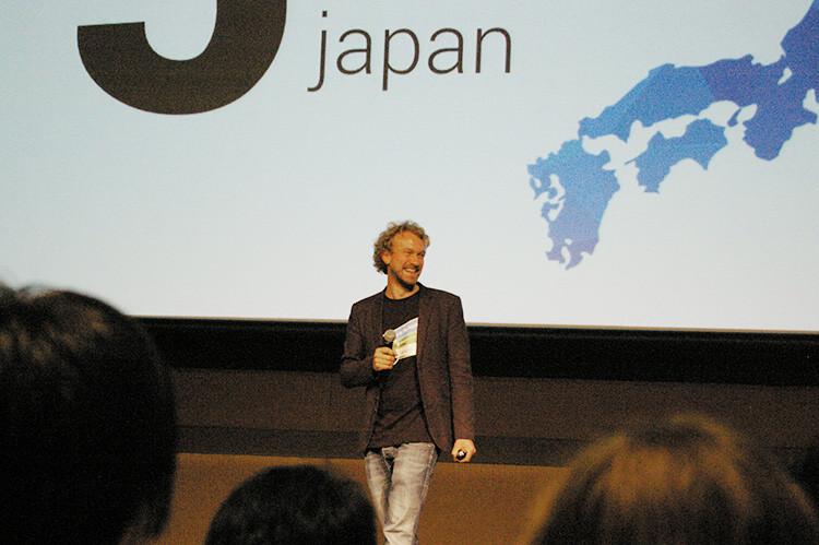 Jimdo Japan 5th anniversary 創業者フライデル氏