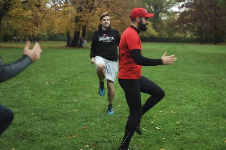 Outdoor Functional Training _ Sebastian Finis