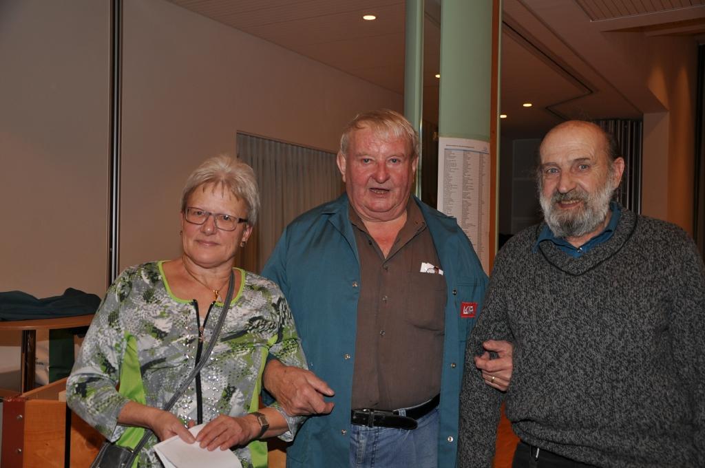 1. August Graf (m), 2. Vreni Aebi (l), 3. Fritz Zbinden (r)