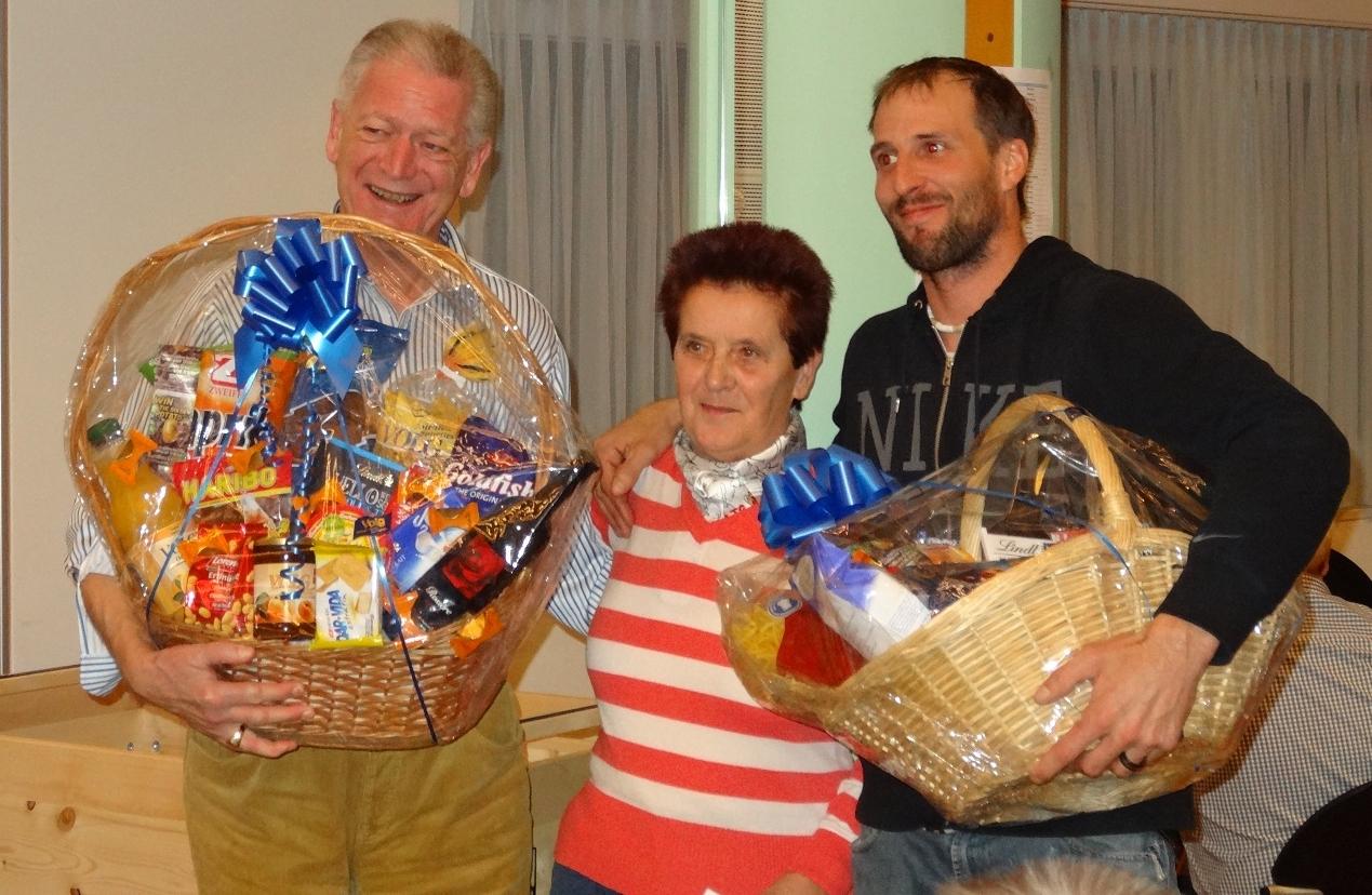 1. Brigitte Homberger, Kradolf (m), 2. Christian Meier, Wil (l), 3. Martin Himmelberger, Elgg (r)