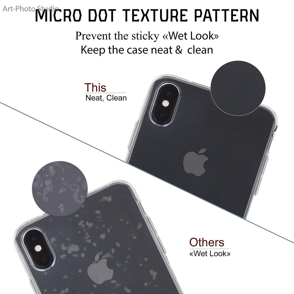 инфографика для Amazon - прозрачные чехлы для iPhone