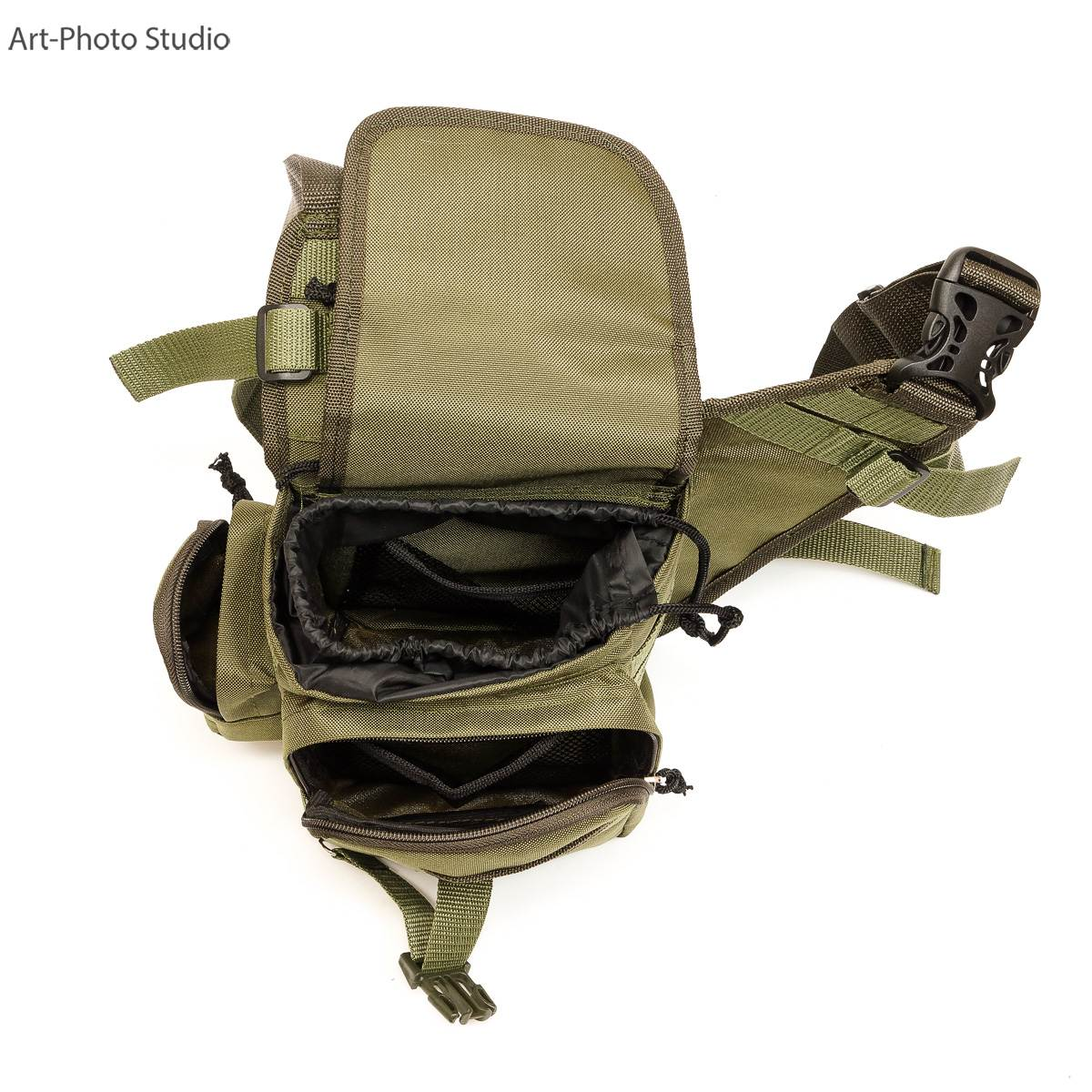 предметная съемка  тактической сумки для сайта интернет-магазина