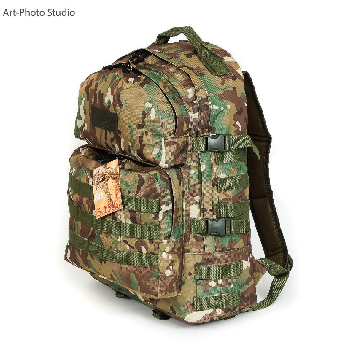 фотография тактического армейского рюкзака цвета мультикам