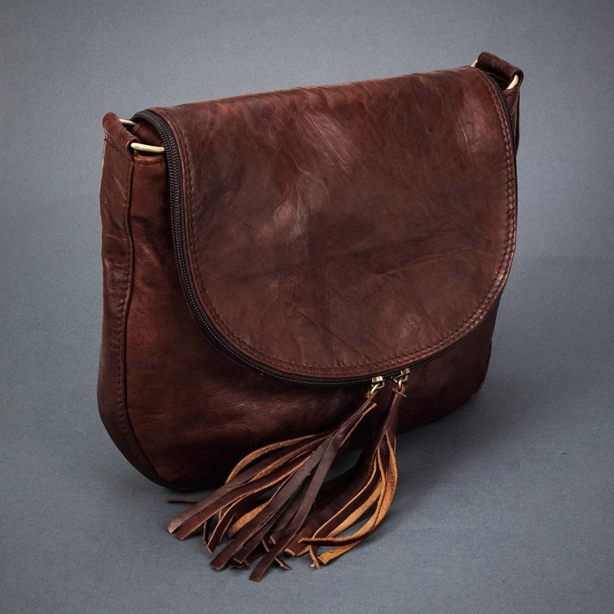 фотография женской сумочки из натуральной кожи