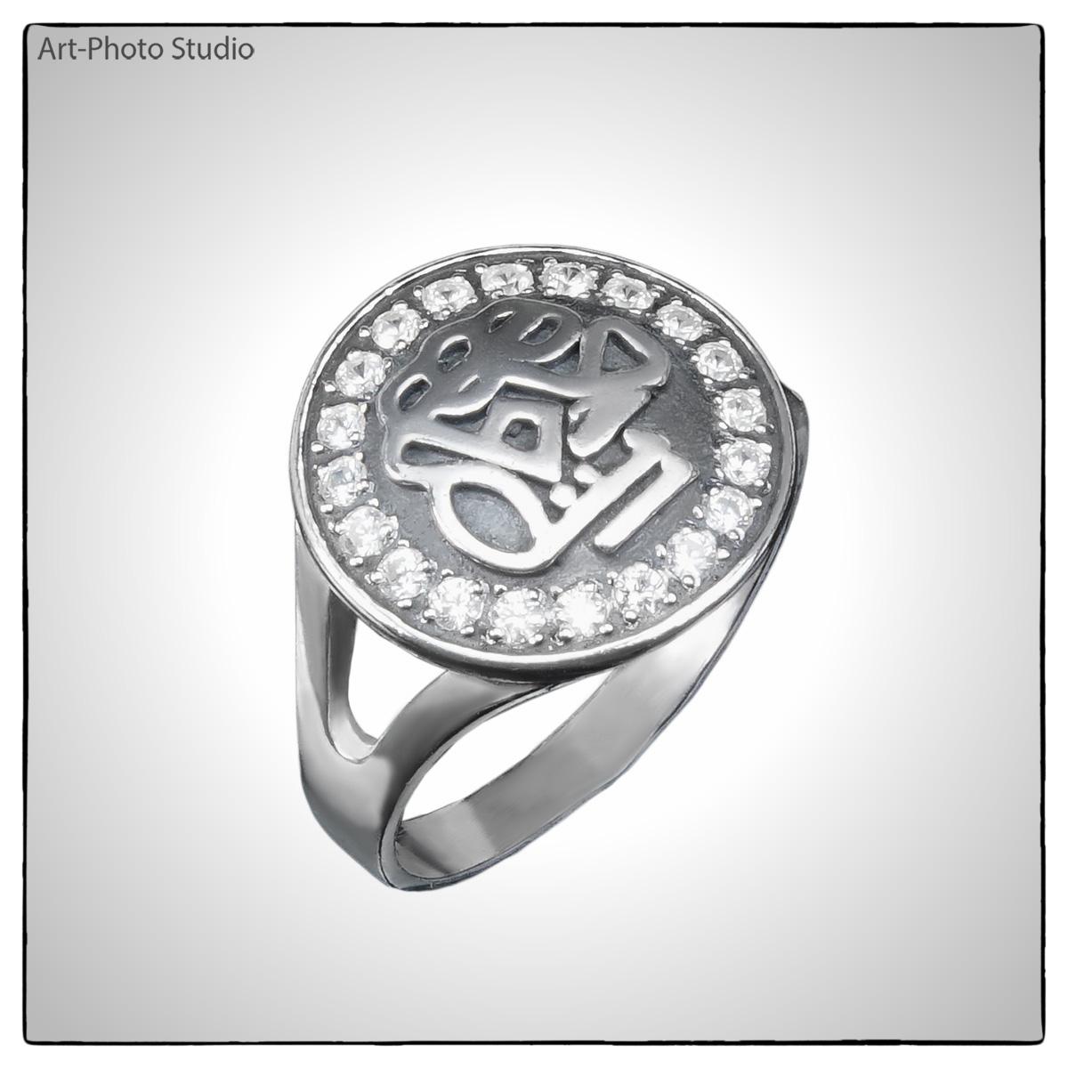 фотосъемка товаров - серебряное кольцо