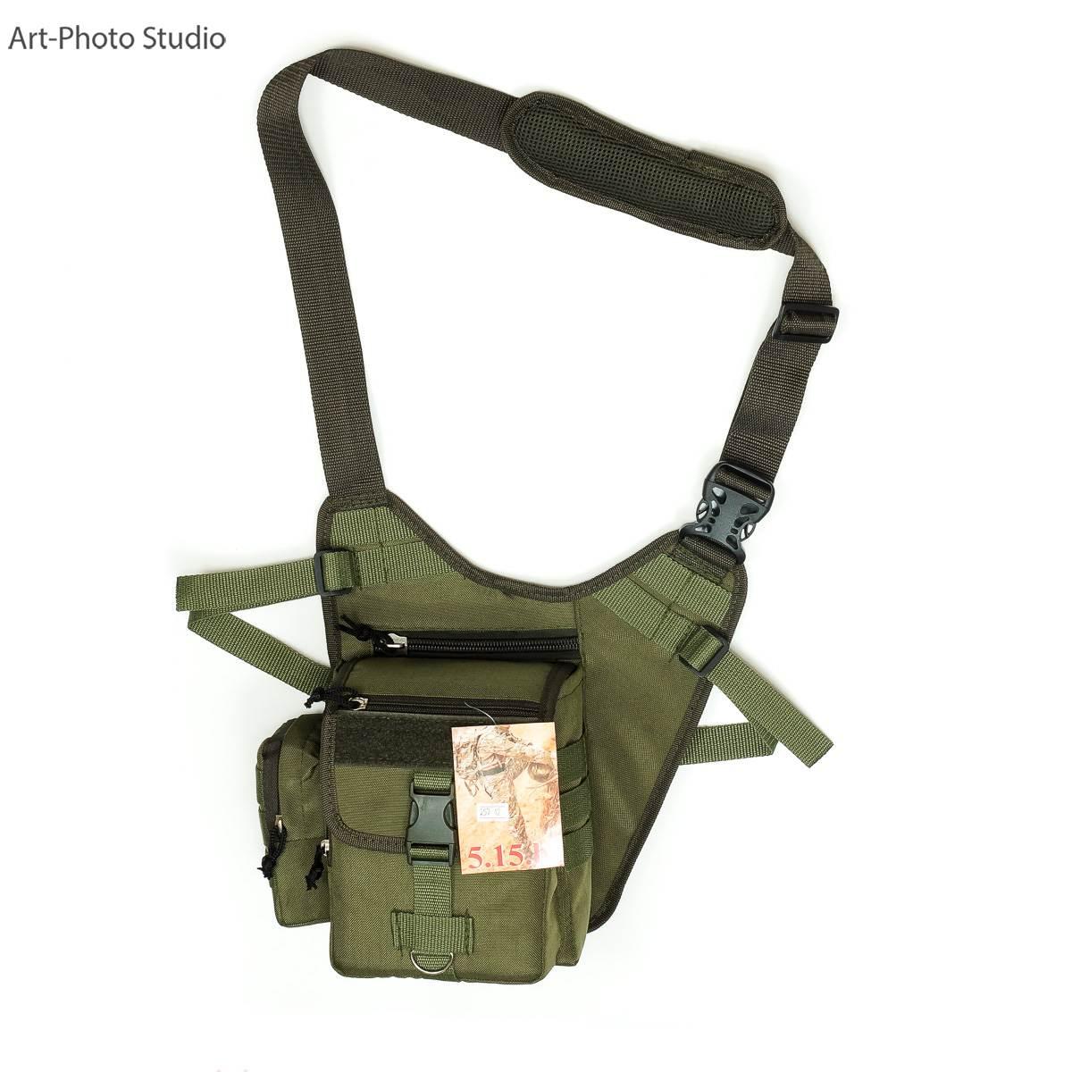 фотография тактической сумки цвета олива