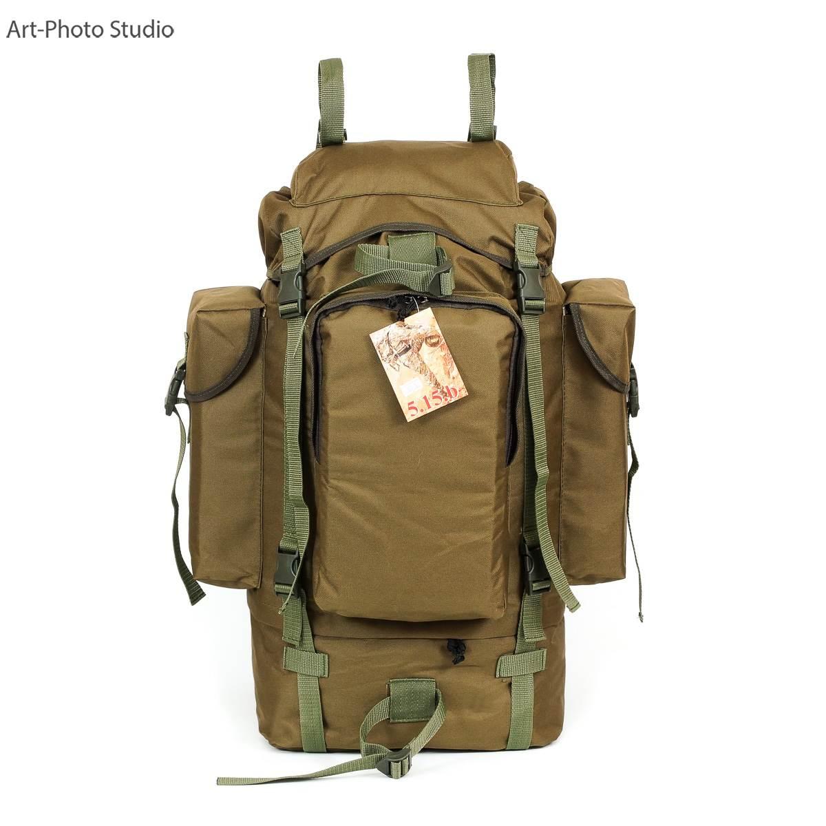 фотография туристского универсального рюкзака цвета койот