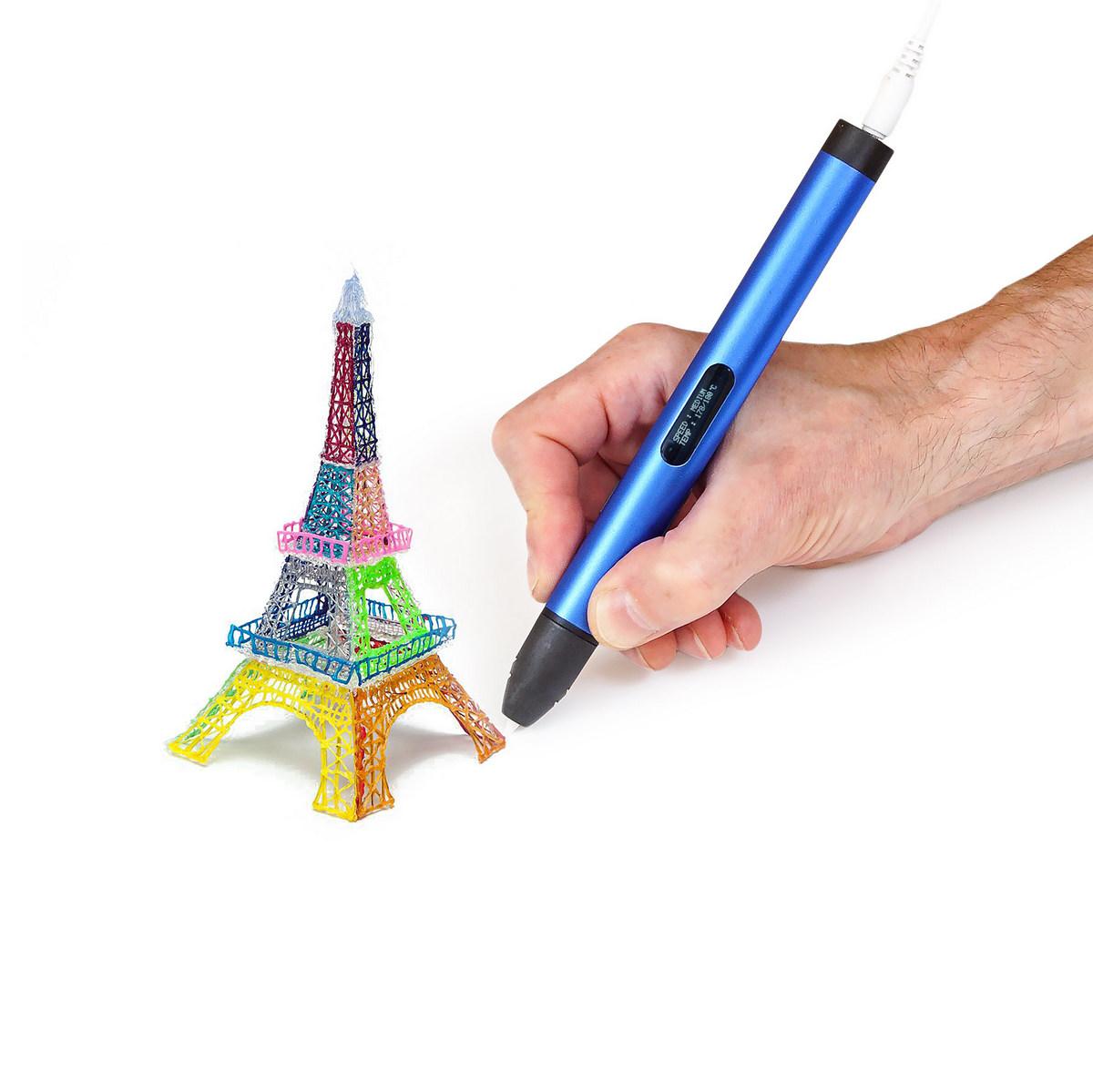 создание объемных предметов с помощью 3D-ручки