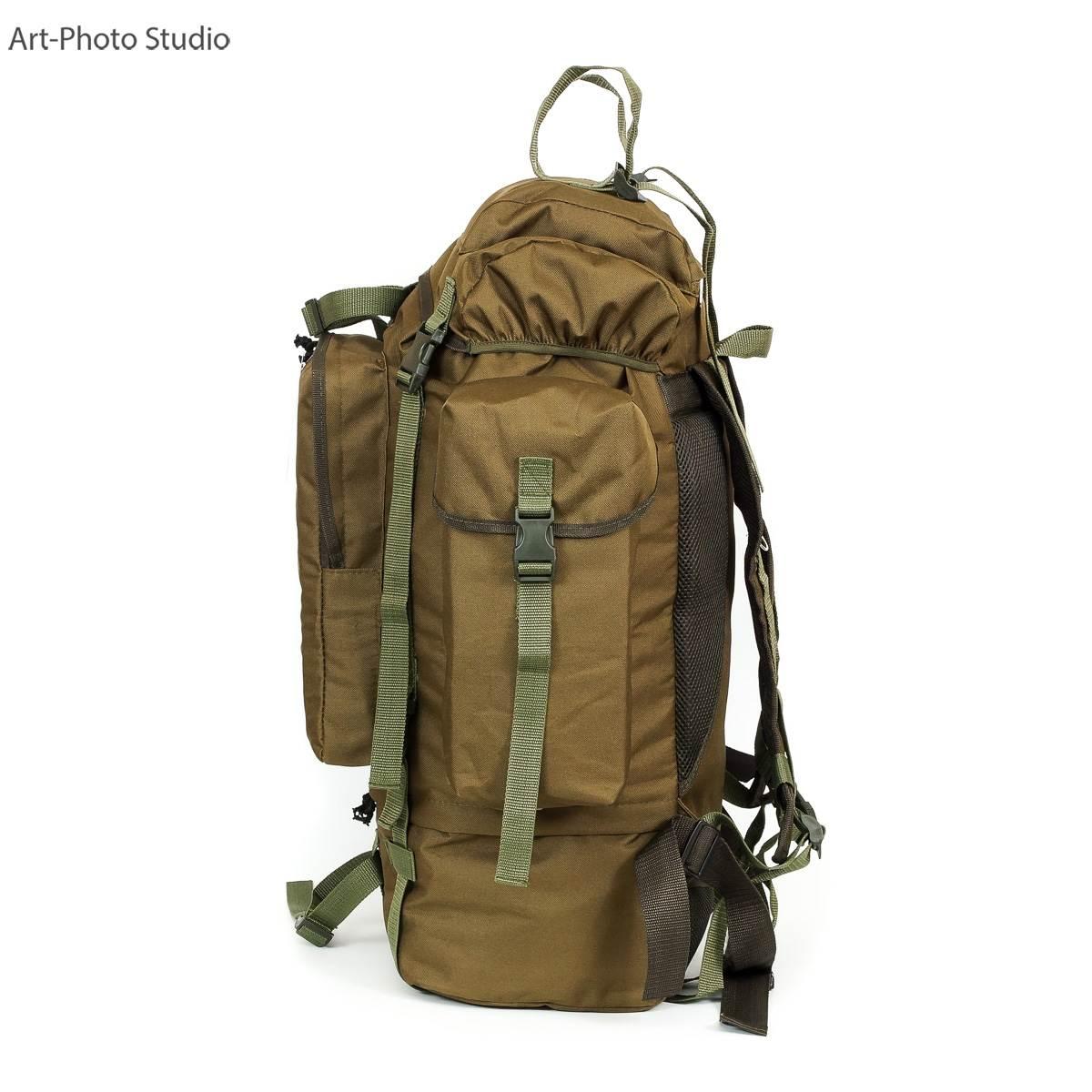 фотография туристического рюкзака цвета койот