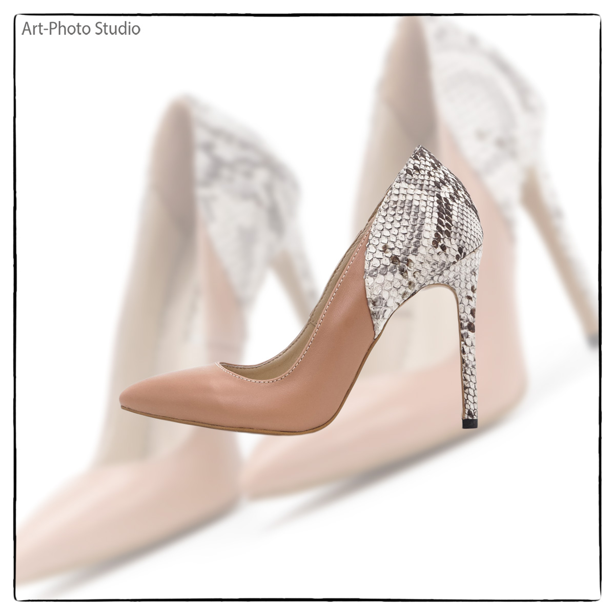 фото обуви для рекламы