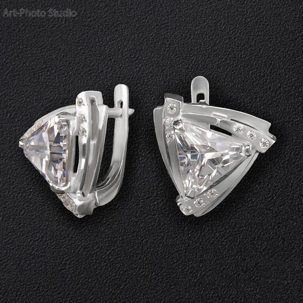 каталожная съемка ювелирных украшений из серебра в Харькове