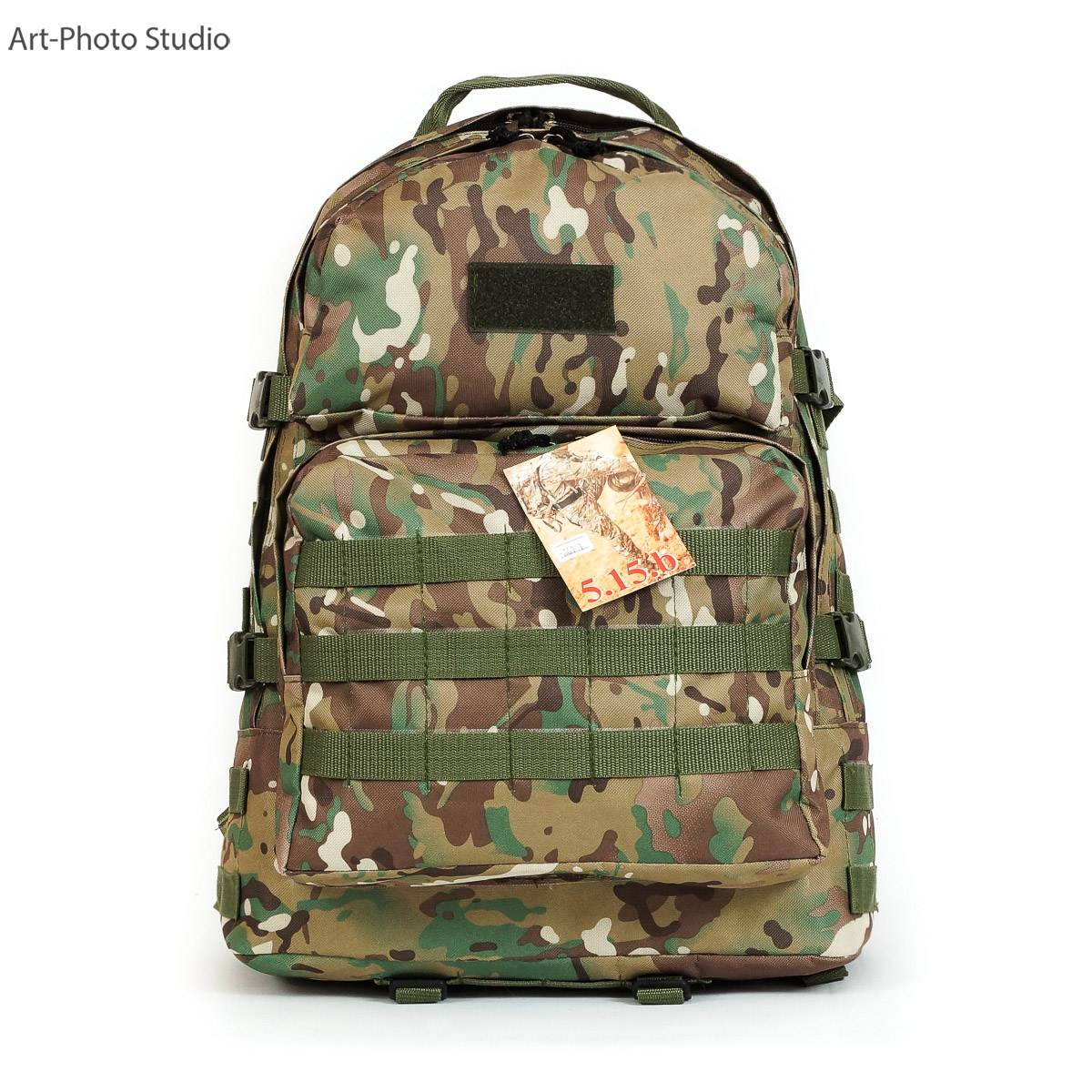 "фото тактического армейского рюкзака цвета ""мультикам"""