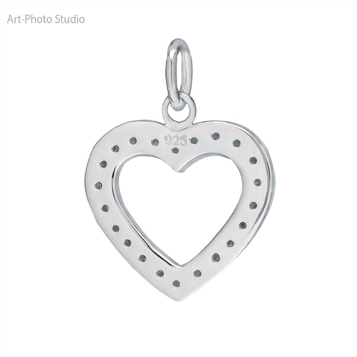 фото ювелирных украшений - кулон из серебра