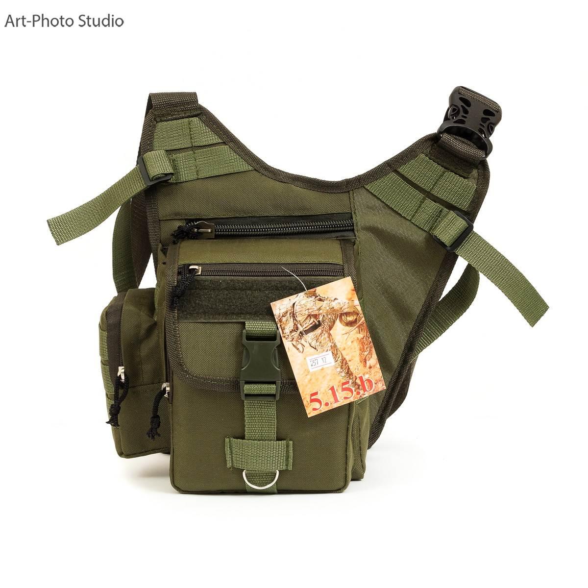 предметная фотография тактической сумки