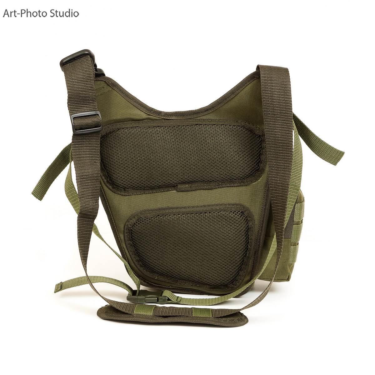 фотография тактической сумки для каталога интернет-магазина