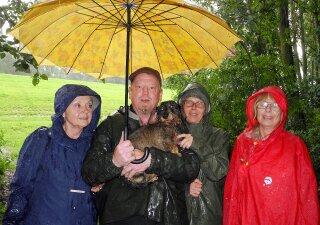 führung bei regen im NSG holzhafen und tide-elbe