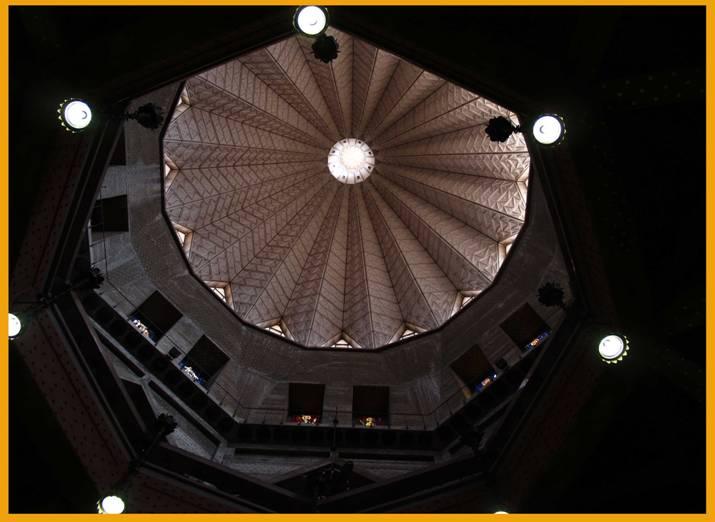 Dôme intérieur de la Basilique