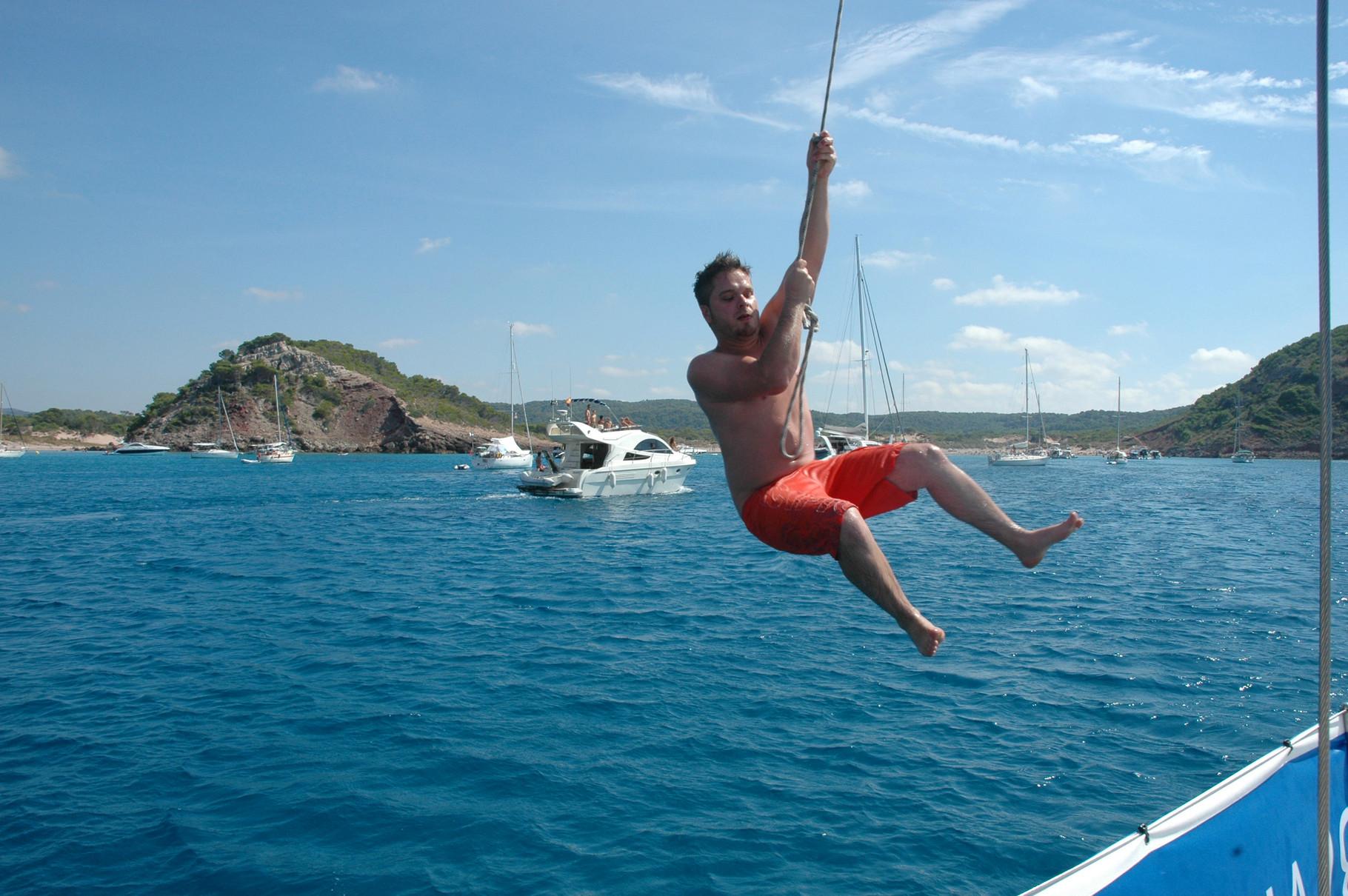 Bay on Menorca