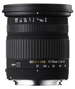 Canon Sigma 17-70mm 2.8-4.5 DC IF Makro