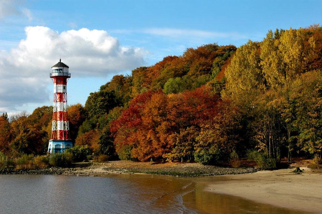 Leuchtturm Wittenberge an der Elbe
