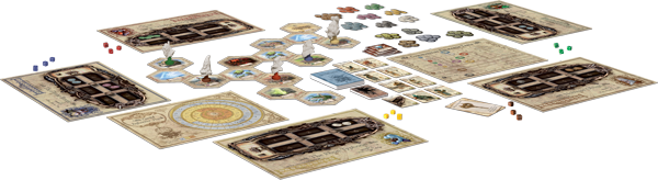 Sky Traders - Set Up for Play