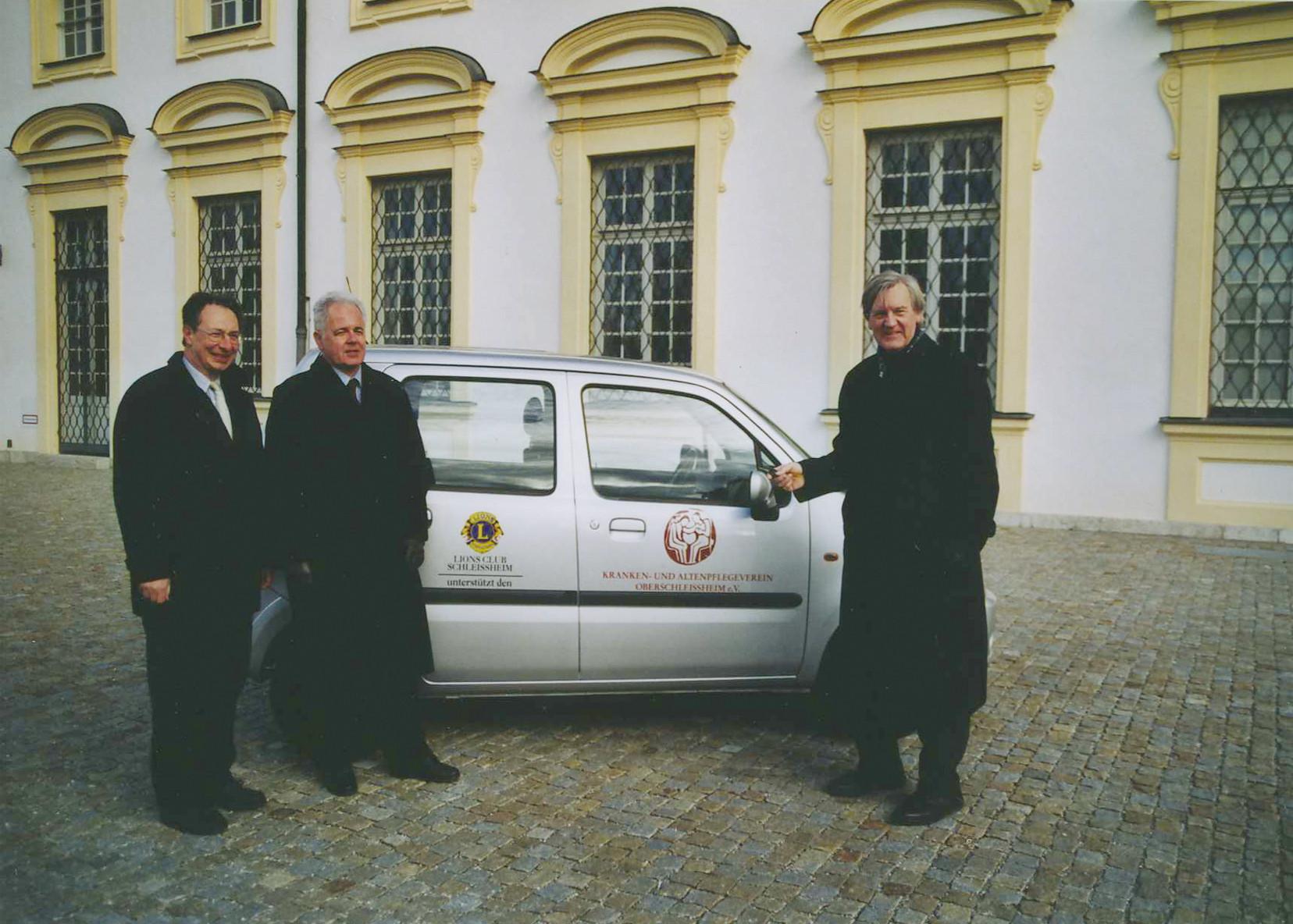 Das zweite Vereinsauto