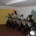 Trainingseinheit im Fitnessstudio