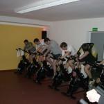 Trainingseinheit im Fitnessstudio