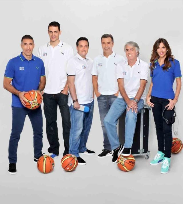 Foto oficial de Mediaset para el Mundobasket