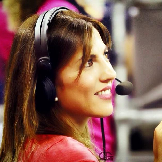 Durante una de las retransmisiones del Mundobasket