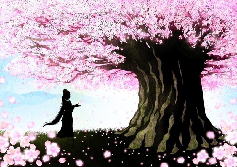 japanese_myth_legend_kojiki_影絵_古事記_コノハナサクヤヒメ_sadakoshiramizu_siramizusadako_しらみずさだこ_影絵作家