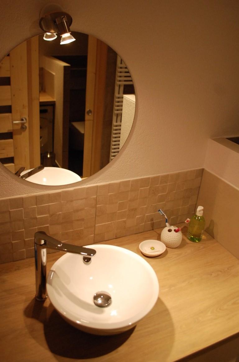 Des matériaux de qualité y compris dans la salle de bain
