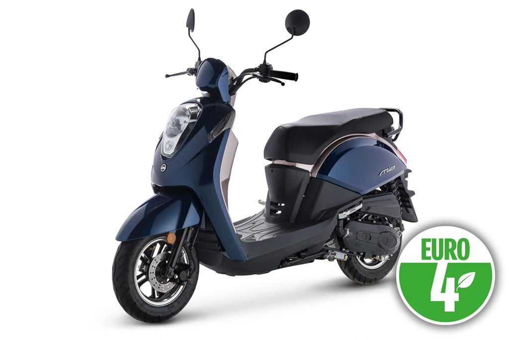Sym Mio 4t 25/45 km/h: € 2198,-  Voor meer informatie , klik je op de foto.