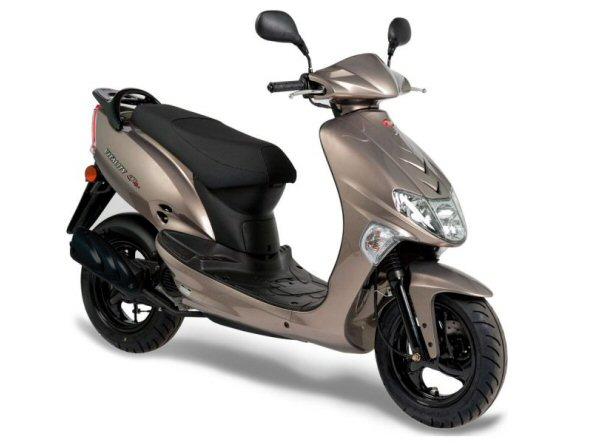 Kymco Vitality 4t 25/45km/h: vanaf € 2098,- Voor meer informatie, klik je op de foto.