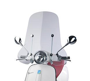 Hoog windscherm: € 185,-