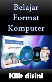 Belajar Format dan Pasang Windows