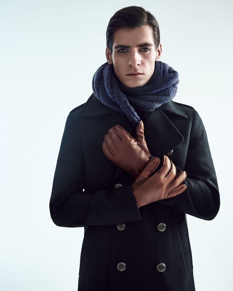Schal und Handschuhe von Roeckl