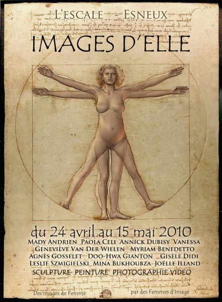Images d'Elles / La Femme de Vitruve / © Chris Renault