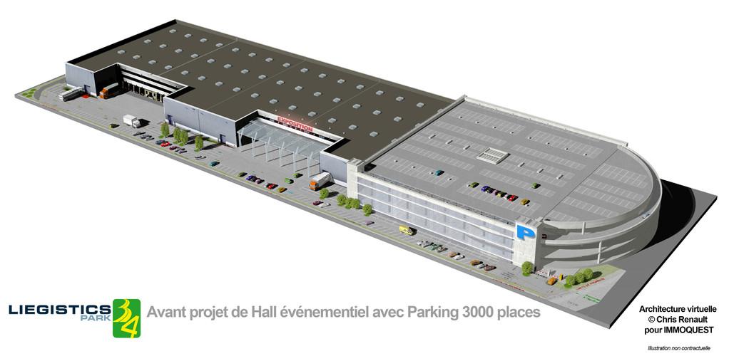 Projet Halles de foires site Liegistic