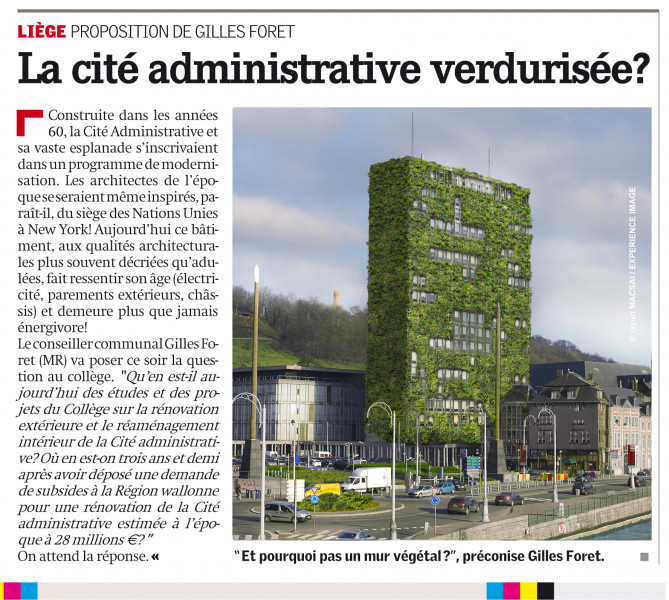 Liège Cité Administrative