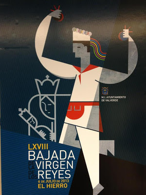 Cartel LVXVIII BAJADA VIRGEN DE LOS REYES